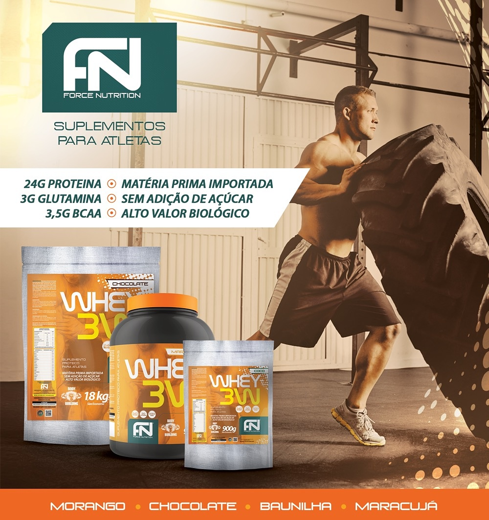 Whey 3w Force Nutrition
